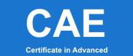 Cambridge English: Advanced (CAE)
